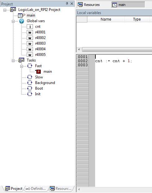 FleaPLC - Turn Raspberry to a IEC61131-3 PLC: LogicLab